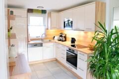 Die Küche mit Miele-Geräten