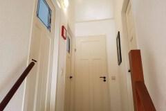 Die neuen Zimmertüren im Obergeschoss