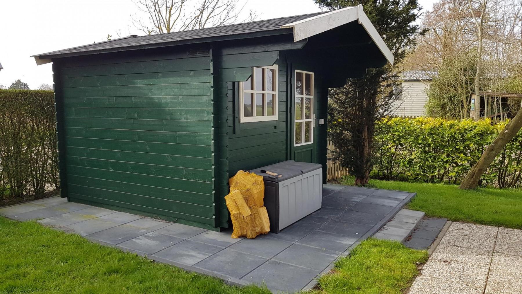 Die Gartenhütte
