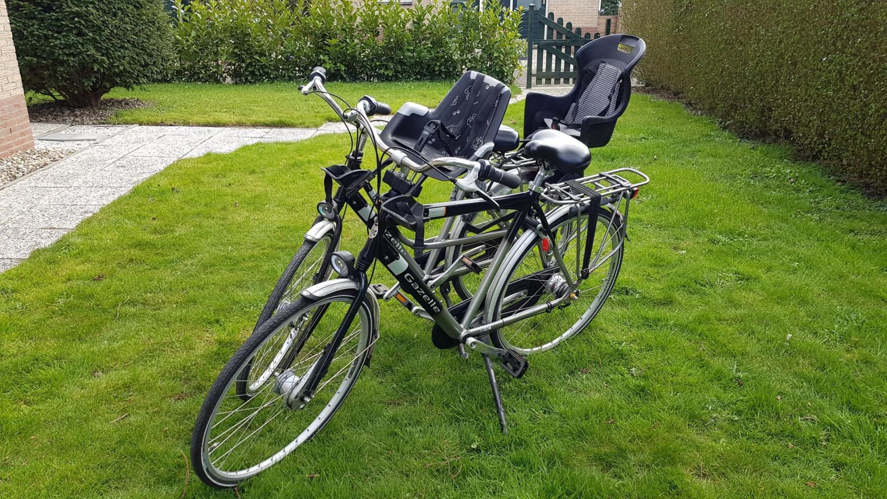Die hauseigenen Gazelle-Fahrräder